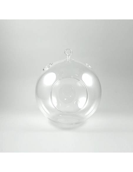 Hanging glass sphere 15