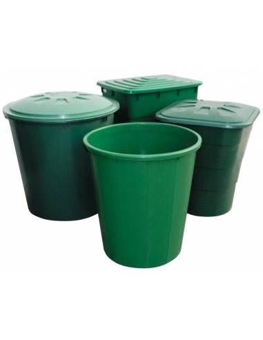 Deposito verde cuadrado