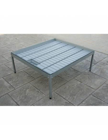 Mesa cultivo 1x1,10 con soporte