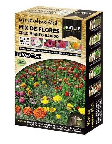 Mix flores crecimiento rápido