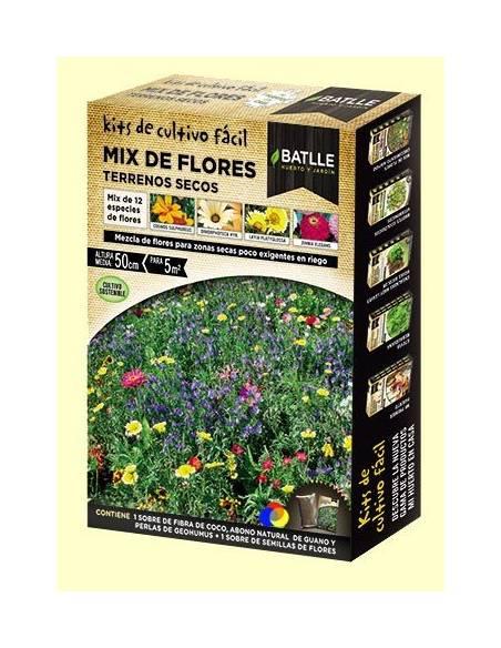 Mix flores terrenos secos
