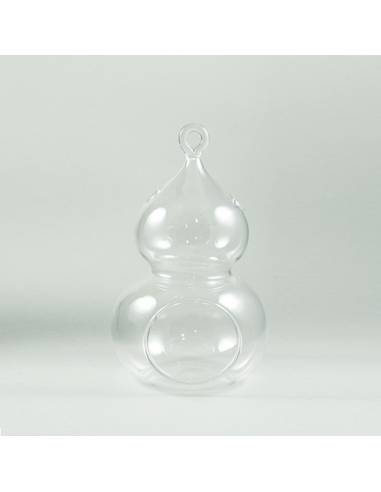 Terrario calabaza cristal 10x17cm