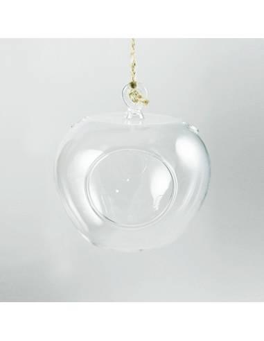 Terrario cristal manzana 12cm