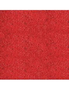 Arena fina rojo