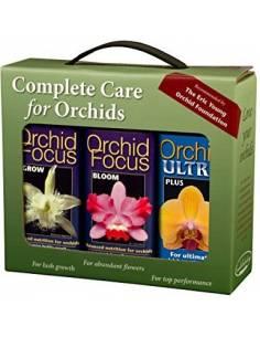 Pack para el cuidado completo de orquídeas 3x100ml.