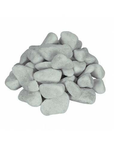 Piedra blanca canto redondo