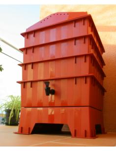 Vermicompostador, terracota,3 bandejas
