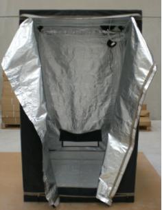 Armario de cultivo interior 1,2 x 1,2 x 2 m