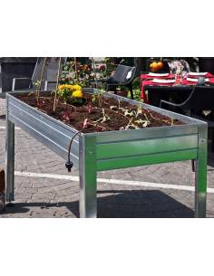 Galvanized cultivation table + 70L coco fiber as gift