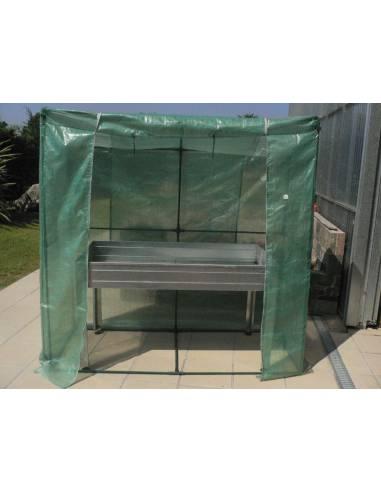 Invernadero para mesa de cultivo
