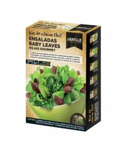 Mix salad leaves baby leaf gourmet