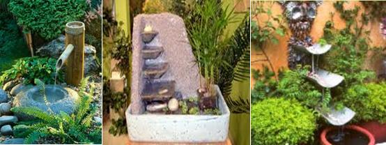 Feng shui en terrazas y jardines - Fuentes para terraza ...